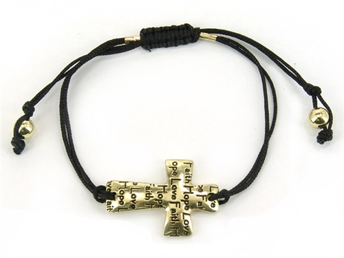 string bracelet christianity 4030234 christian cross pull string bracelet the 4891