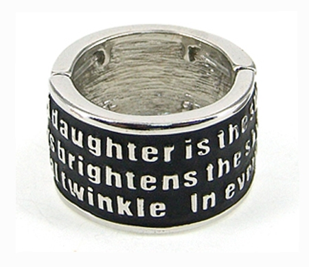 4030297 Daughter Stretch Ring Christian Mother
