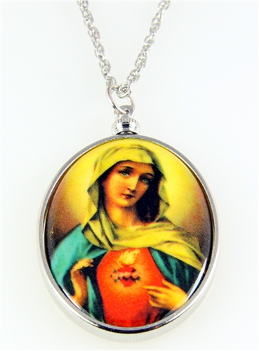 4031511 Immaculate Heart of Mary Necklace Pendant Blessed Virgin Sacred
