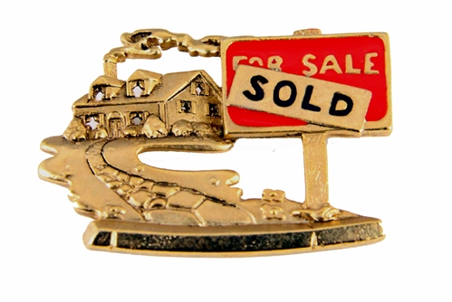 6030137 For Sale SOLD Real Estate Brooch Pin Agent Agnecy House Home …