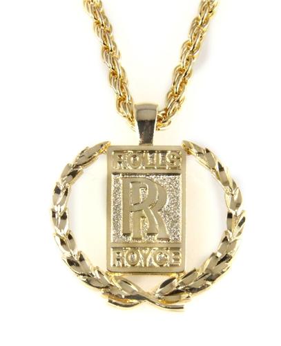 6030472 rolls royce necklace bling polished gold tone bentley 6030472 rolls royce necklace bling polished gold tone bentley phantom ghost w aloadofball Gallery