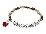 4030009 Teacher Beaded Stretch Bracelet Teachers Aide Teaching Student