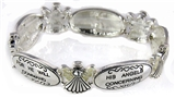 4030021 Psalm 91:11 Angel Stretch Bracelet Inspirational Christian Religious ...