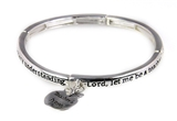 4030087a Teacher Prayer Stretch Bracelet Gift Christian Scripture Religious