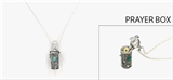 4030109 Prayer Capsule Locket Necklace Christian Mother Prayer Urn Heirloom
