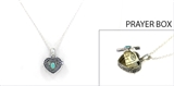 4030110 Teacher Prayer Capsule Locket Necklace Christian Urn Heirloom Teachers Gift Appreciation