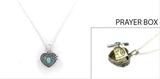 4030110 Teacher Prayer Capsule Locket Necklace Christian Urn Heirloom Teachers Gift Appreciation