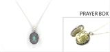 4030111 Daughter Prayer Capsule Locket Necklace Christian Urn Heirloom Present Gift Appreciation