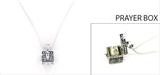 4030112 Sisters Prayer Capsule Locket Necklace Christian Urn Heirloom Present Gift Appreciation