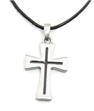 4030156 Christian Cross Necklace Scripture, Religious, Bible, Crucifix