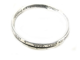 4030246 Mark 10:27 Twisted Bangle Bracelet All Things Are Possible Christian ...