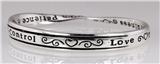 4030247 Religious Christian Bible Cross Jewelry Bracelet Fruits of the Spirit