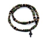 4030275 Cross Pendant Christian Religious Scripture Bible Necklace
