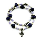 4030277 Cross Pendant Christian Religious Scripture Bible Necklace