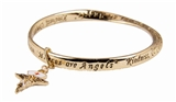 4030290 Nurse Bangle Bracelet RN Registered Nurse Angel Nursing School