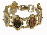 4030332 Angels Bracelet Saints Religious Old World Style Arch Angel