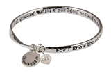 4030429 Jeremiah 29:11 For I Know The Plans I Have For You Twisted Bangle Scripture Bracelet