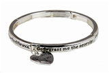 4030430 Serenity Prayer Stretch Bracelet AA 12 Step One Day at a Time