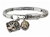 4030432 Tree of Life Stretch Bracelet Family Tree Heorloom Ancestry Relic