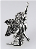 4030487 Angel Brooch Pin Cherub Guardian Religious Lapel