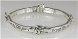 4030502 Philippians 4:13 Stretch Bracelet Christian Fashion Jewelry I Can Do ...