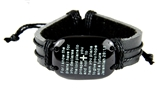 4030581 Jeremiah 29:11 Scripture Leather Bracelet Bible Verse For I Know The Plans I Have For You