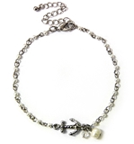 4030590 Beaded Anchor Anklet Bracelet Ankle Band Summer Beach Jewelry