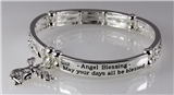 4030705 Angel Blessing Prayer Stretch Bracelet Angel Watching Over You Blessed