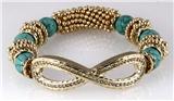4030816 Infinity Symbol Stretch Bracelet Popular Fashion Eternity