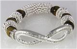 4030818 Infinity Symbol Stretch Bracelet Popular Fashion Eternity