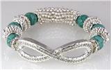 4030819 Infinity Symbol Stretch Bracelet Popular Fashion Eternity
