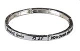 4030829 LAmazing Grace Petite Stretch Bracelet Stackable Music Teacher Minister