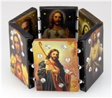 4030839 Jesus Stretch Bracelet Saints Icon Christian Religious Bible