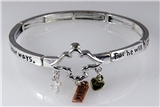 4030864 Psalm 91:11 Guardian Angel Stretch Bracelet Christian Scripture Jesus...
