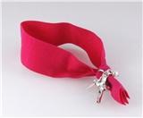 4030915 Stretch Hair Tie Cloth Fabric Cross Christian Bracelet Trendy Fashion...