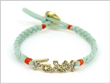 4031189 Faith Braided Leather Cord Style Bracelet Religious Fashion Jesus Scr...