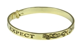 4031227 Expect Miracles Hinged Bangle Bracelet Miracle Happens Pray For