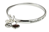 4031402 May Birthday Bangle Bracelet Present Gift Charms Gift Box