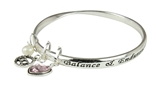 4031407 October Birthday Bangle Bracelet Present Gift Charms Gift Box