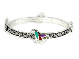 4031413 Equine Stretch Bracelet Horse Western Style Design Cowgirl Fashion