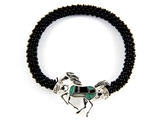 4031423 Equine Stretch Bracelet Horse Western Style Design Cowgirl Fashion