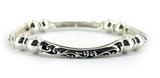 4031431 Polished Silver Tone Stretch Bracelet Fashion Design Stacking Petite ...