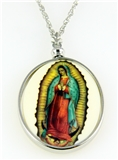 4031513 Blessed Virgin Our Lady of Guadalupe Necklace Mary Mother of God