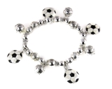 4031528 Soccer Stretch Bracelet World Cup Fever Soccer Mom Futbol