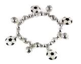4031528 Soccer Stretch Bracelet World Cup Fever Soccer Mom Futbol