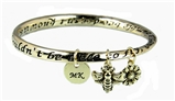 4031655 Bumble Bee Bangle Bracelet MK Consultant Gift Mary Director Consistency Award Kay