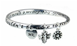 4031656 Bumble Bee Bangle Bracelet MK Consultant Gift Mary Director Consistency Award Kay