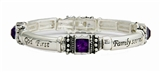 4031657 God First Family Second Career Third MK Stretch Bracelet Mary Consultant Director Award Gift Kay