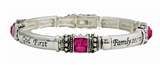 4031658 God First Family Second Career Third MK Stretch Bracelet Mary Consultant Director Award Gift Kay