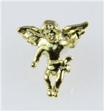 6030025 Guardian Angel Lapel Pin Tack Collar Hat Pin Brooch Protector